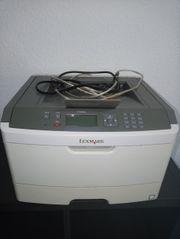 Laserdrucker von Lexmark Patrone
