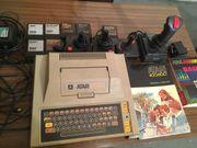Antiker Atari 400 mit Zubehör