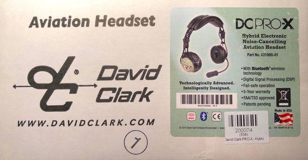 David Clark DC ProX Hybrid