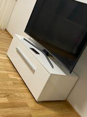 tv Tisch Hochglanz Weiß