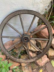 Wagenrad 2 Stück Antik