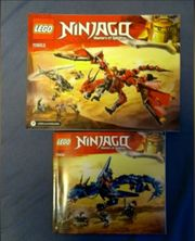 Lego Ninjago Blauer und Roter