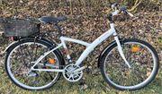 BTWIN 21-Gang Alu-City-Mountainbike gepflegt 26