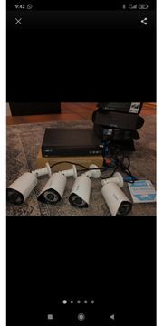 4x Reolink Überwachungskamera
