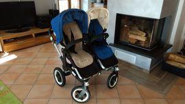 Kinderwagen - Doppelkinderwagen Bugaboo Donkey