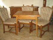 Esstisch mit 4 Stuhlen