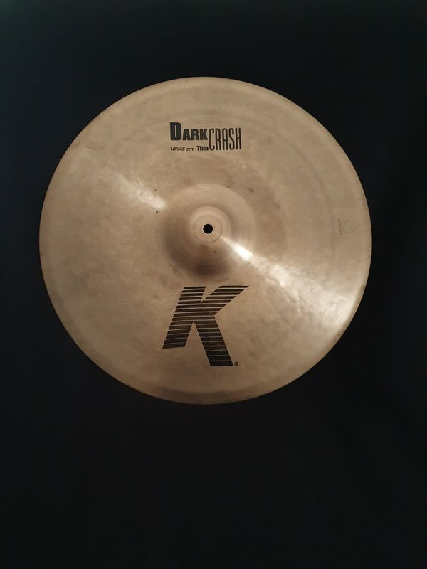 18 K Zildjian Dark Thin