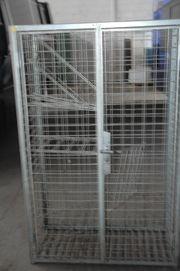 Weinlagerschrank stabile Gitterkonstruktion