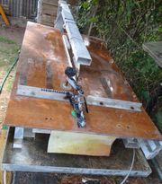 Tischsäge für Beton Granit und