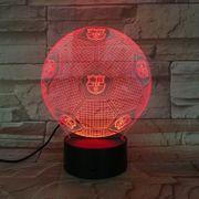 FC Barcelona LED 3D Lampe