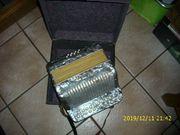 Knopfakkordeon Rigoletto mit Koffer OK