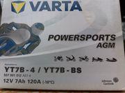 VARTA Säure-Batterie für Krafträder u