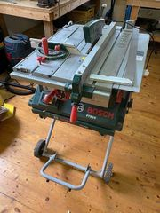 Bosch PTS10 Tischkreissäge PTA 2000