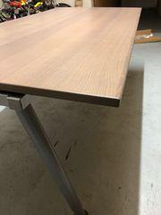 IKEA Galant Schreibtisch in graubraun