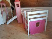 Madchen Kinderbett mit Rutsche