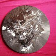 Handbemalte Leinwand Abstrakt Acryl
