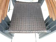 4 Rattan-Gartenstühle zu verkaufen