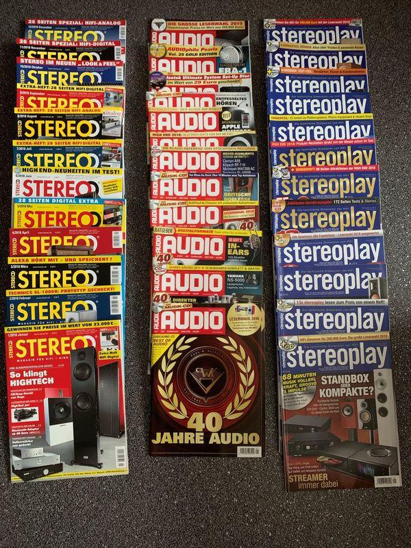 Audio - Stereoplay - Stereo Jahrgänge 2018