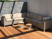 Lounge - Gartenmöbel ohne Tisch und