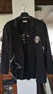 Blazer Jacke in schwarz gr
