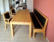 Esstisch Stühle Bank m Funktionen