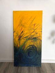 Bild Acryl auf Leinen 50x100cm