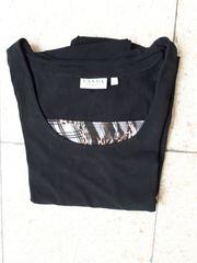T-Shirt Gr XL schwarz mit