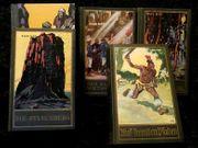 5 gebundene Bücher von Karl
