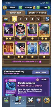 Clash Royale Account 40 Max