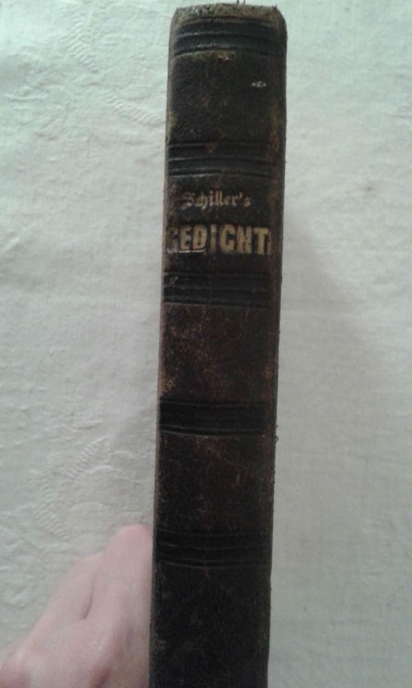 Schillers Gedichte 1855