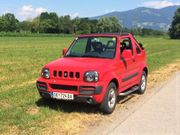 Suzuki Jimny LX rot metallic