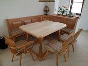 Bauernmöbel Eckbank Jogltisch und Stühle