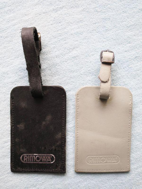 RIMOWA Kofferanhänger Leder gebraucht