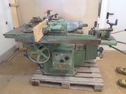 Tischfräse mit Langlochbohrmaschine