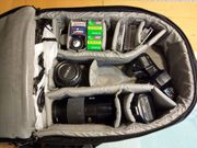 Minolta Fotokamera analog mit Tasche