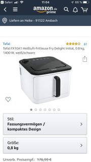 Tefal Heissluftfritteuse Fry Delight Initial