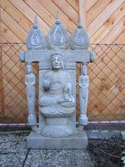 Gartenfiguren Buddha Tibet Indien Meditation