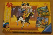 Yakari Puzzle 3x49 Teile von