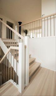 Holztreppen aus Polen Treppe Fenster