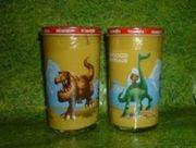 Bautzner Sammelglas Dinosaurier
