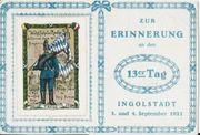 Postkarte von 1921