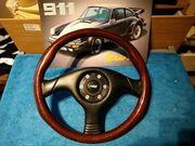 Raid Porsche 911 Holz Lenkrad