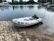 Schlauchboot Yamaha TS 350 mit