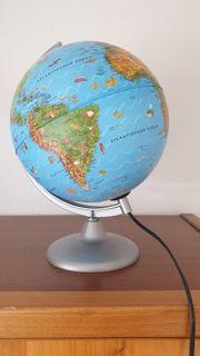 Kinder- Globus mit Innenbeleuchtung