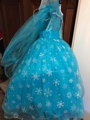 Prinzessin Elsa Eiskönigin Kleid