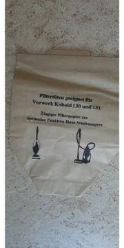 Staubsaugerbeutel Vorwerk Kobold für 130