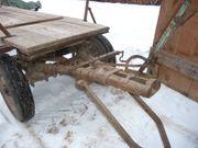 Verkaufe Langholzwagen mit zwei Achsen