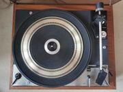 Vintage Plattenspieler Dual 1219 in