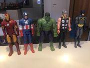 4 Avengers mit Batman