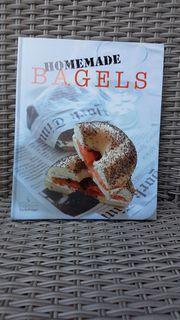 Modernes hochwertiges Kochbuch Homemade Bagels